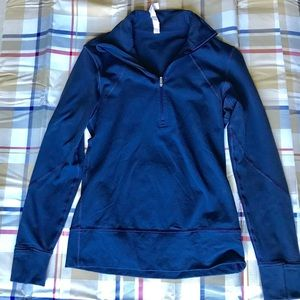 Lulu lemon Navy blue zip up